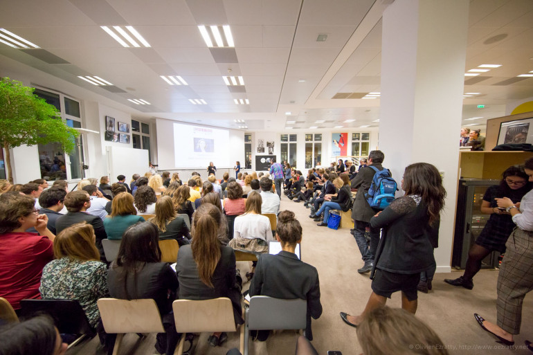 Une Lady Pitch Night Girls in Tech datant d'octobre 2015