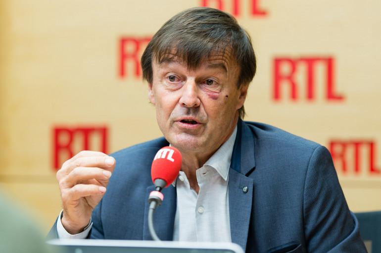 Nicolas Hulot, invité de RTL le 23 octobre 2017