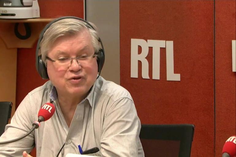 Philippe Gloaguen, fondateur et directeur du Guide du Routard, le 25 octobre 2017 sur RTL