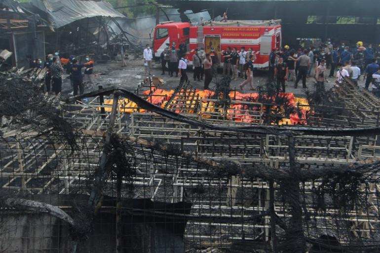 Un incendie dans une usine de feux d'artifice a fait 23 morts en Indonésie