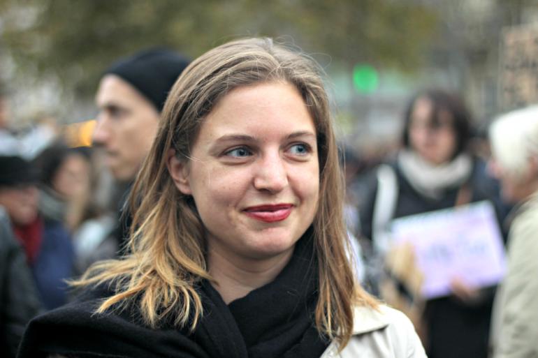 """Rebecca Amsellem, fondatrice de la newsletter féministe """"Les Glorieuses"""""""