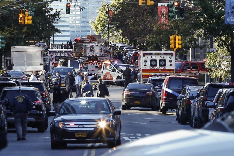 """Un """"acte de terrorisme"""" à Manhattan mardi 31 octobre."""