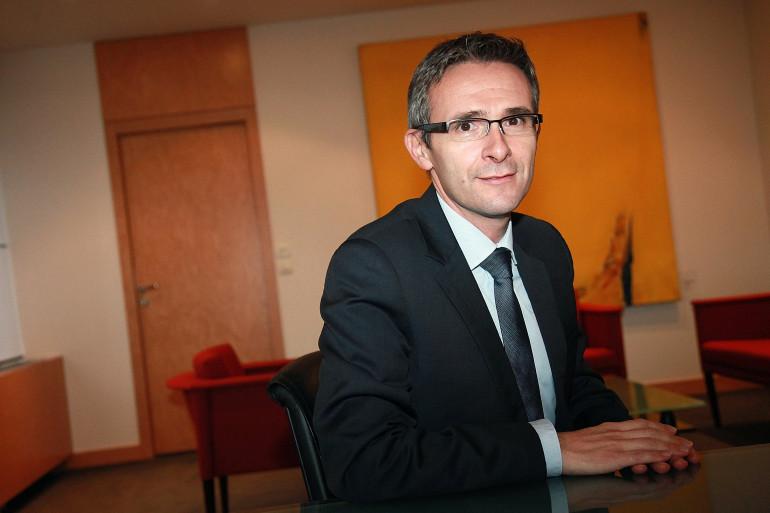 Stéphane Troussel, le président socialiste du conseil général de Seine-Saint-Denis