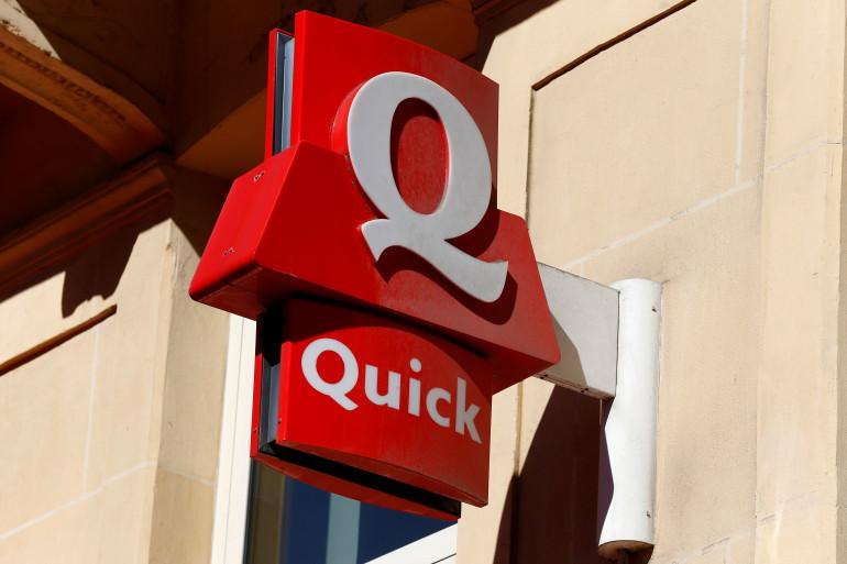 La tentative de braquage a eu lieu dans un restaurant de la chaîne Quick.