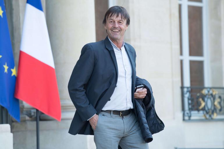 Nicolas Hulot, le ministre de la Transition écologique et solidaire.