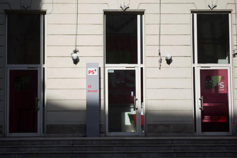 Le siège du Parti socialiste, rue Solférino à Paris