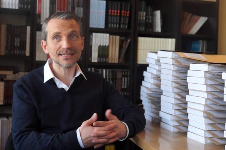 """Olivier Norek, auteur de """"Entre deux mondes"""" (Michel Lafon)."""