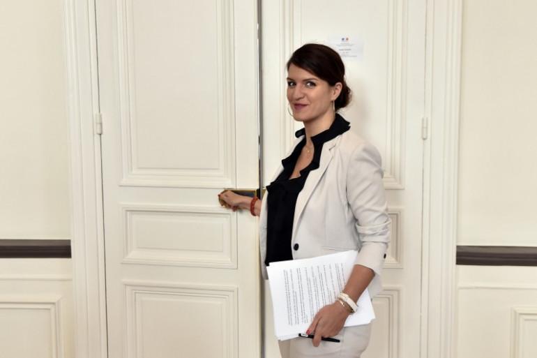 Marlène Schiappa, la secrétaire d'État à l'Égalité entre les femmes et les hommes