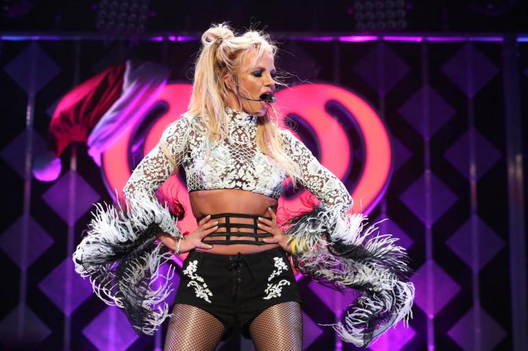 Britney Spears lors d'un concert à Los Angeles, le 2 décembre 2016