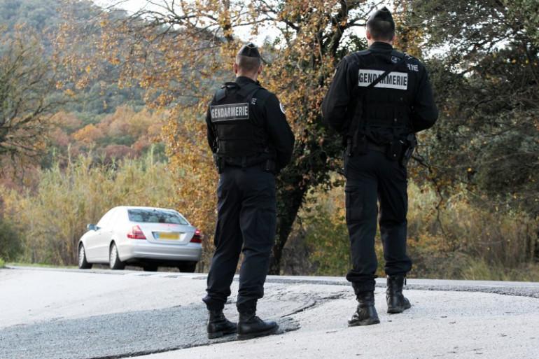 Une patrouille de gendarmes sur une route du Var. (illustration)