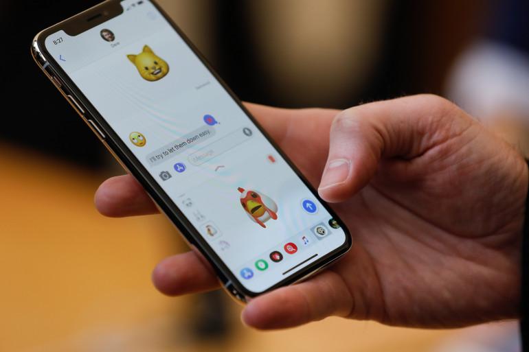 L'iPhone X est commercialisé depuis le 3 novembre 2017