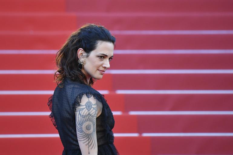 Asia Argento au Festival de Cannes, le 17 may 2017
