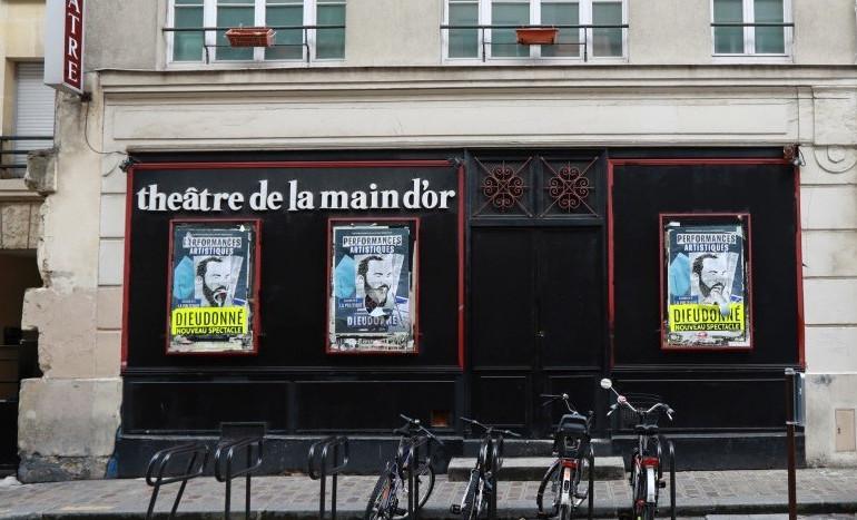 Le Théâtre de la Main d'Or le 20 mai 2017 à Paris