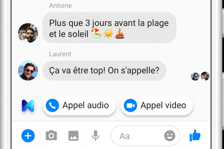 L'assistant virtuel de Messenger débarque en France