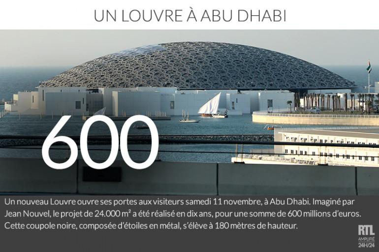 Le Louvre d'Abu Dhabi ouvre ses portes