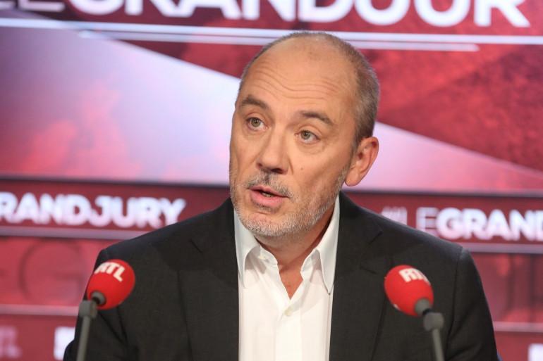 """Stéphane Richard, président-directeur général d'Orange, le 12 novembre 2017 dans """"Le Grand Jury"""""""