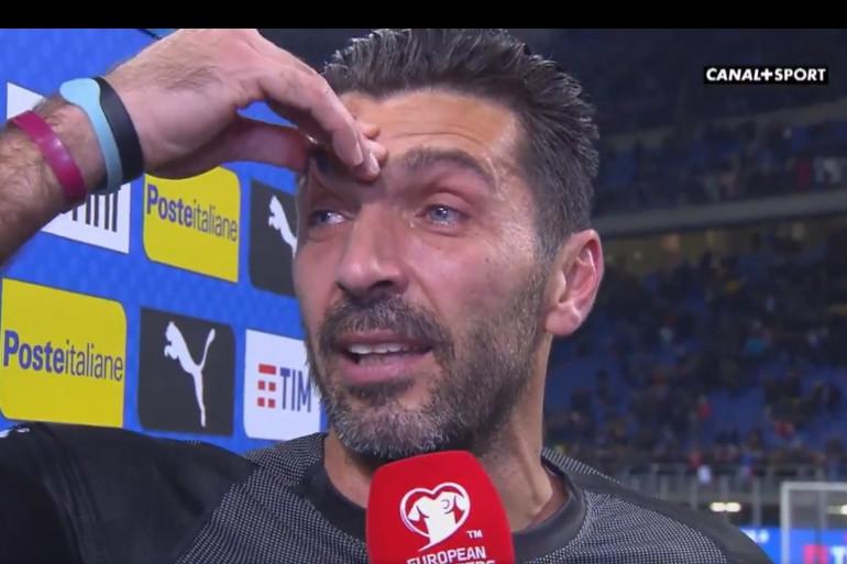 Gianluigi Buffon le 13 novembre 2017