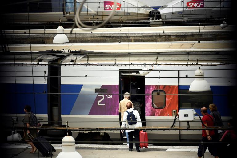Train de la SNCF (image d'illustration)