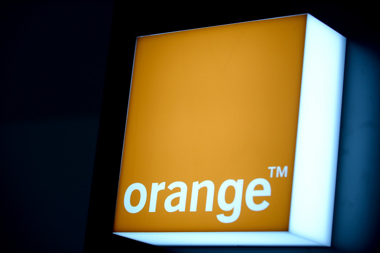 Le logo de l'opérateur historique, Orange