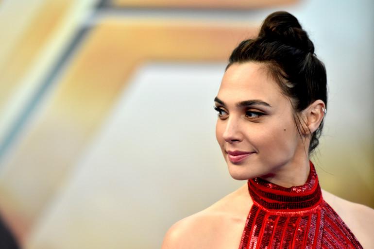 """Gal Gadot à l'avant-première de """"Wonder Woman"""", le 25 mai 2017 à Hollywood"""