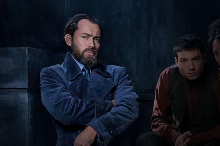 Jude Law dasn le rôle d'Albus Dumbledore