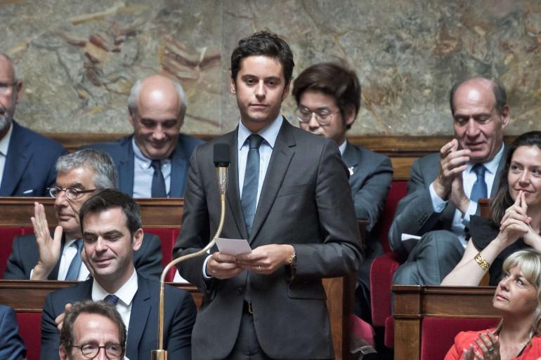 Gabriel Attal, député REM des Hauts-de-Seine