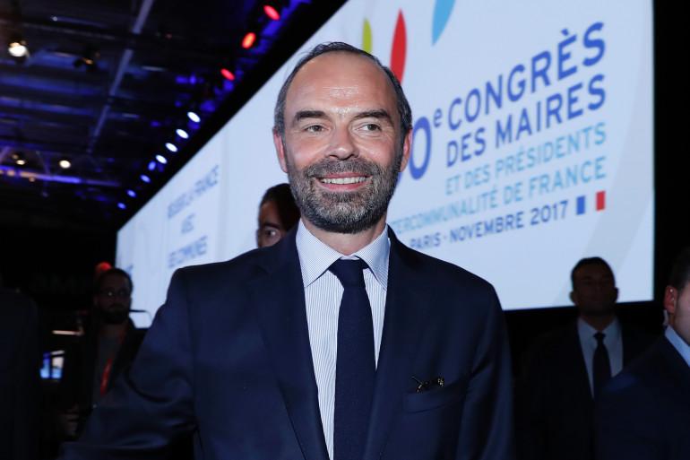 Édouard Philippe au Congrès des maires le 21 novembre 2017