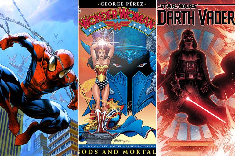 Découvrez notre sélection de comics à offrir pour Noël
