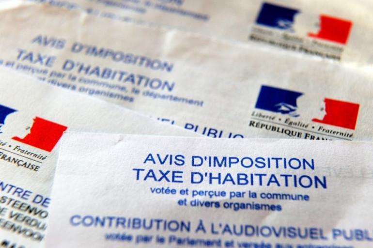 Un avis d'impôt de la taxe d'habitation (illustration)