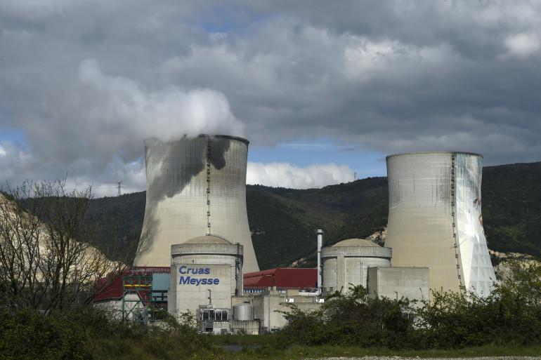 La centrale nucléaire de Cruas-Meysse en Ardèche