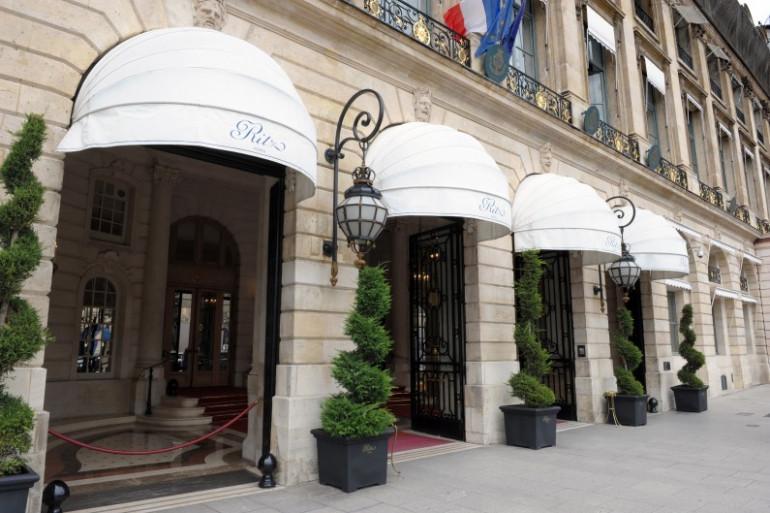 L'accueil de l'hôtel Le Ritz