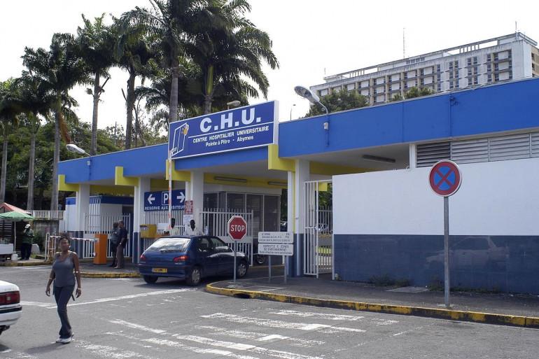 Le CHU de Pointe-à-Pitre, le 27 août 2012