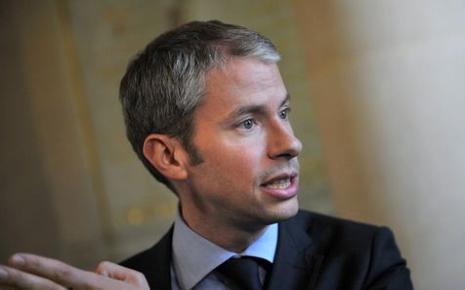 Franck Riester, rare député UMP favorable au projet de loi sur le mariage pour tous.