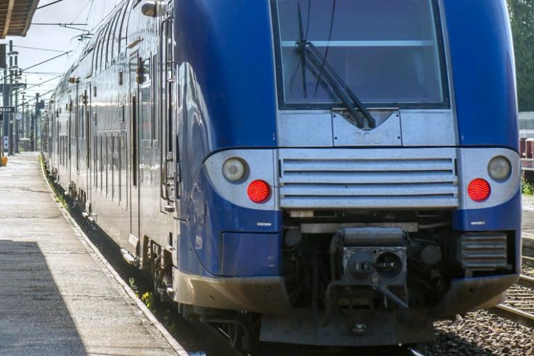 Un Train Express Régional (illustration)