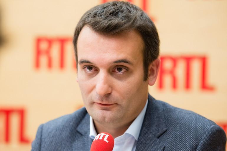 Florian Philippot, est l'invité de RTL le 26 décembre 2017
