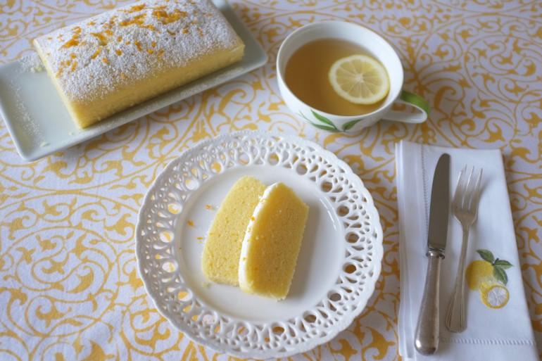 Le cake bergamote sans gluten cuit à la vapeur douce