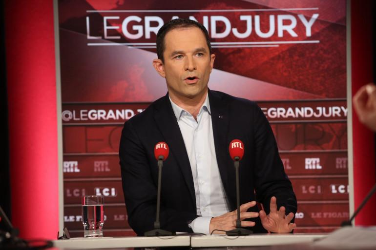 """L'ancien ministre Benoît Hamon invité du""""Grand Jury"""" de RTL, LCI et """"Le Figaro"""" dimanche 3 décembre"""