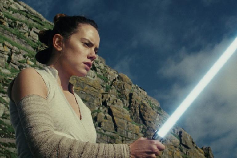 """Daisy Ridley dans le rôle de Rey dans """"Star Wars 8"""""""