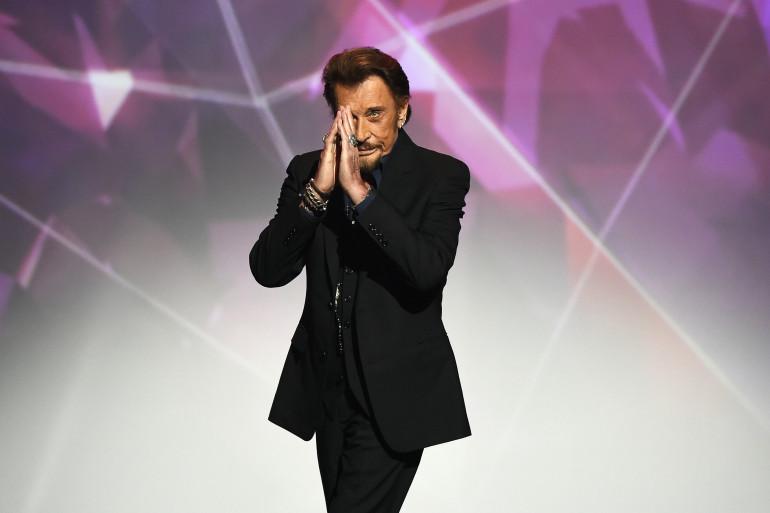 Johnny Hallyday, en février 2016