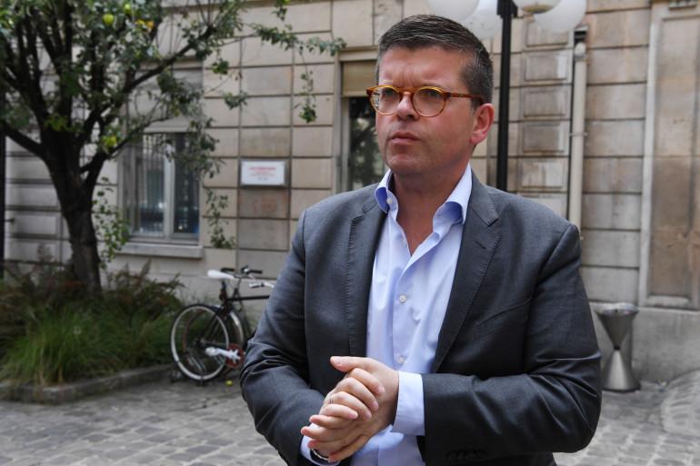Le député du Val-de-Marne Luc Carvounas