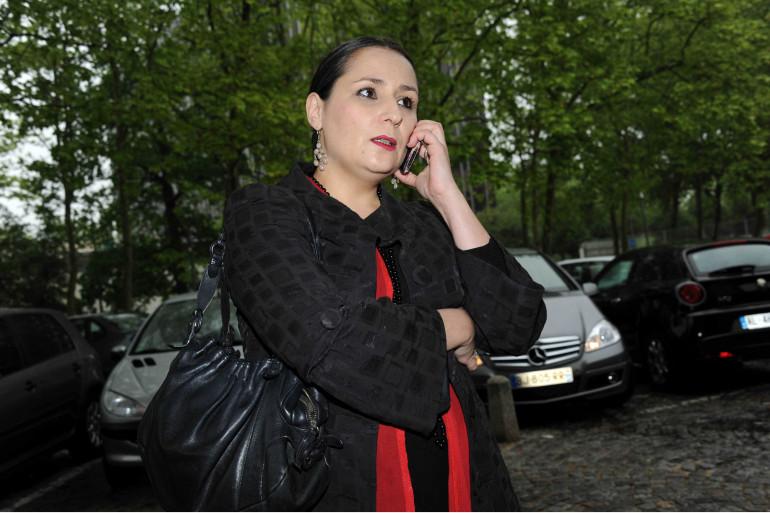 Éva Loubrieu, une accusatrice de Georges Tron