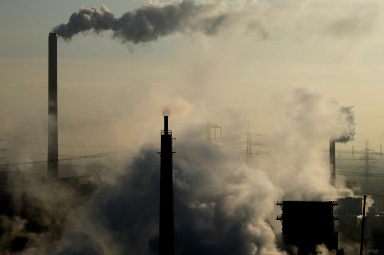 Une usine de charbon à Bottrop, en Allemagne