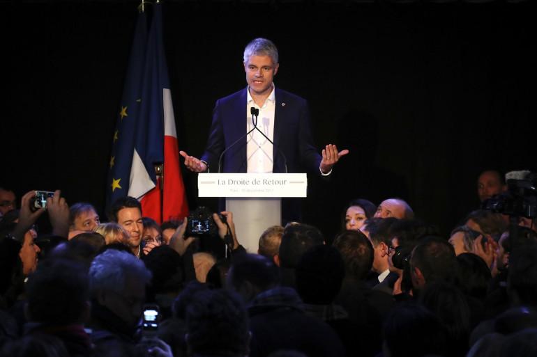 Le président des Républicains Laurent Wauquiez, le 10 décembre à Paris