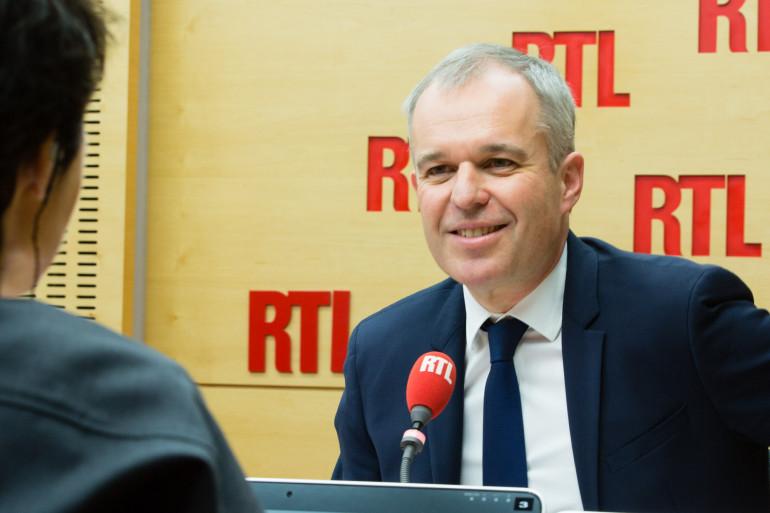 François de Rugy était l'invité de RTL 14 décembre 2017