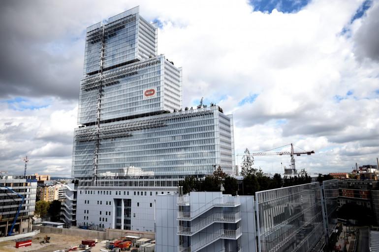 Le nouveau palais de justice de Paris, au nord de la capitale