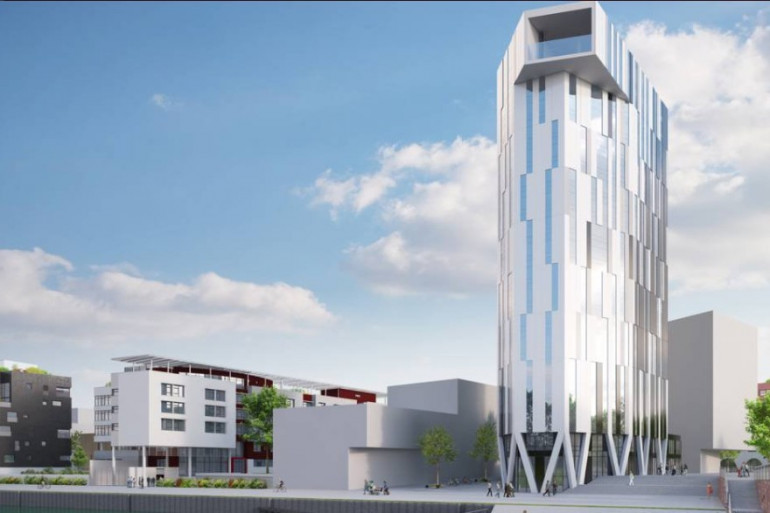 À Strasbourg, la tour Elithis va faire gagner de l'argent à ses locataires