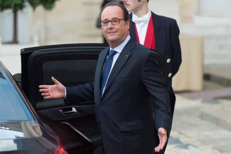 François Hollande, le 15 septembre 2017