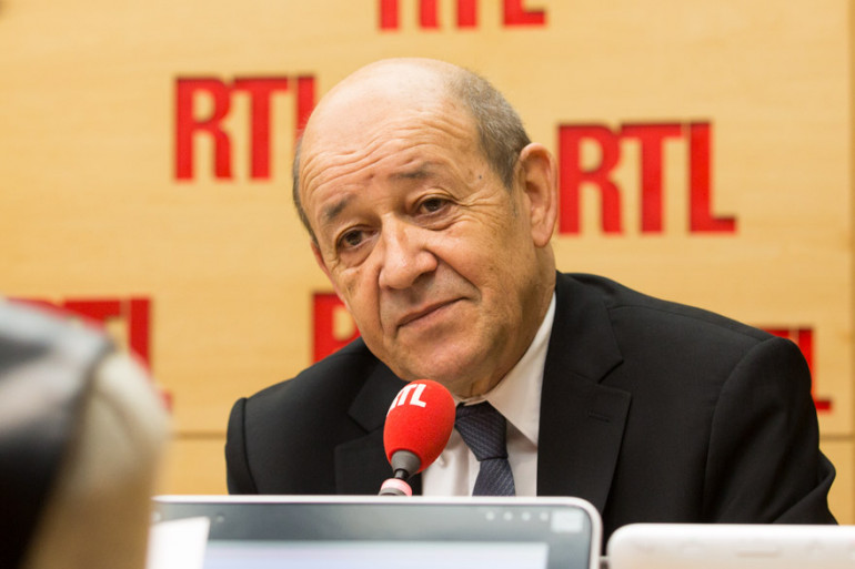 Jean-Yves Le Drian était l'invité de RTL matin du 15 décembre