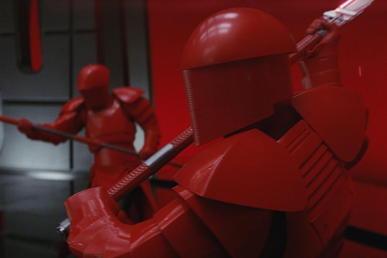 Les membres de la Garde prétorienne de Snoke