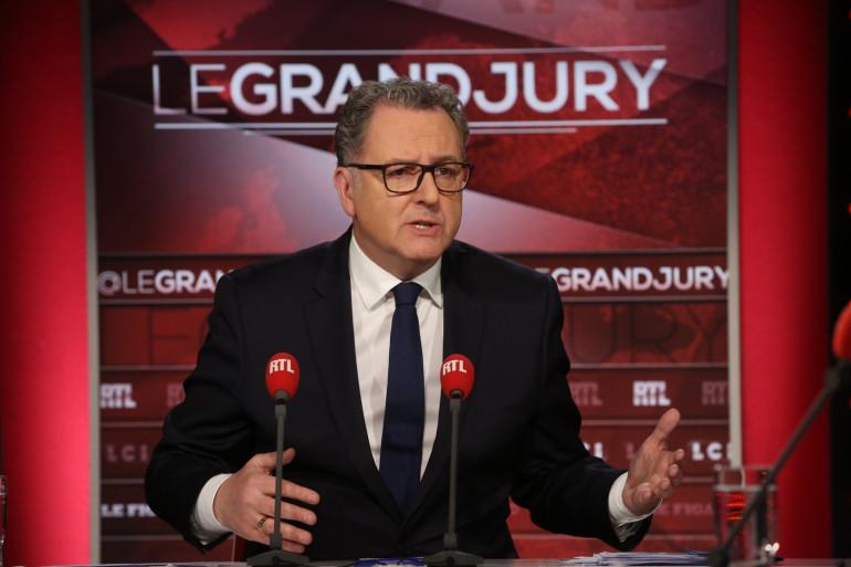 """Richard Ferrand sur le plateau du """"Grand Jury"""" dimanche 17 décembre 2017"""